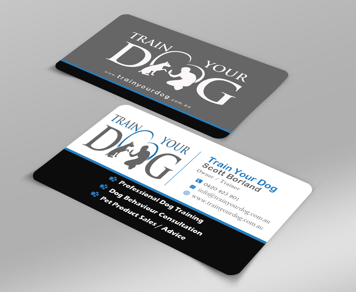 Magnificent Dog Business Cards Composition - Business Card Ideas ...