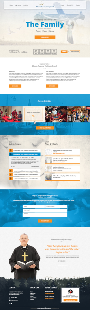 Church Web Designs | 40 Websites to Browse
