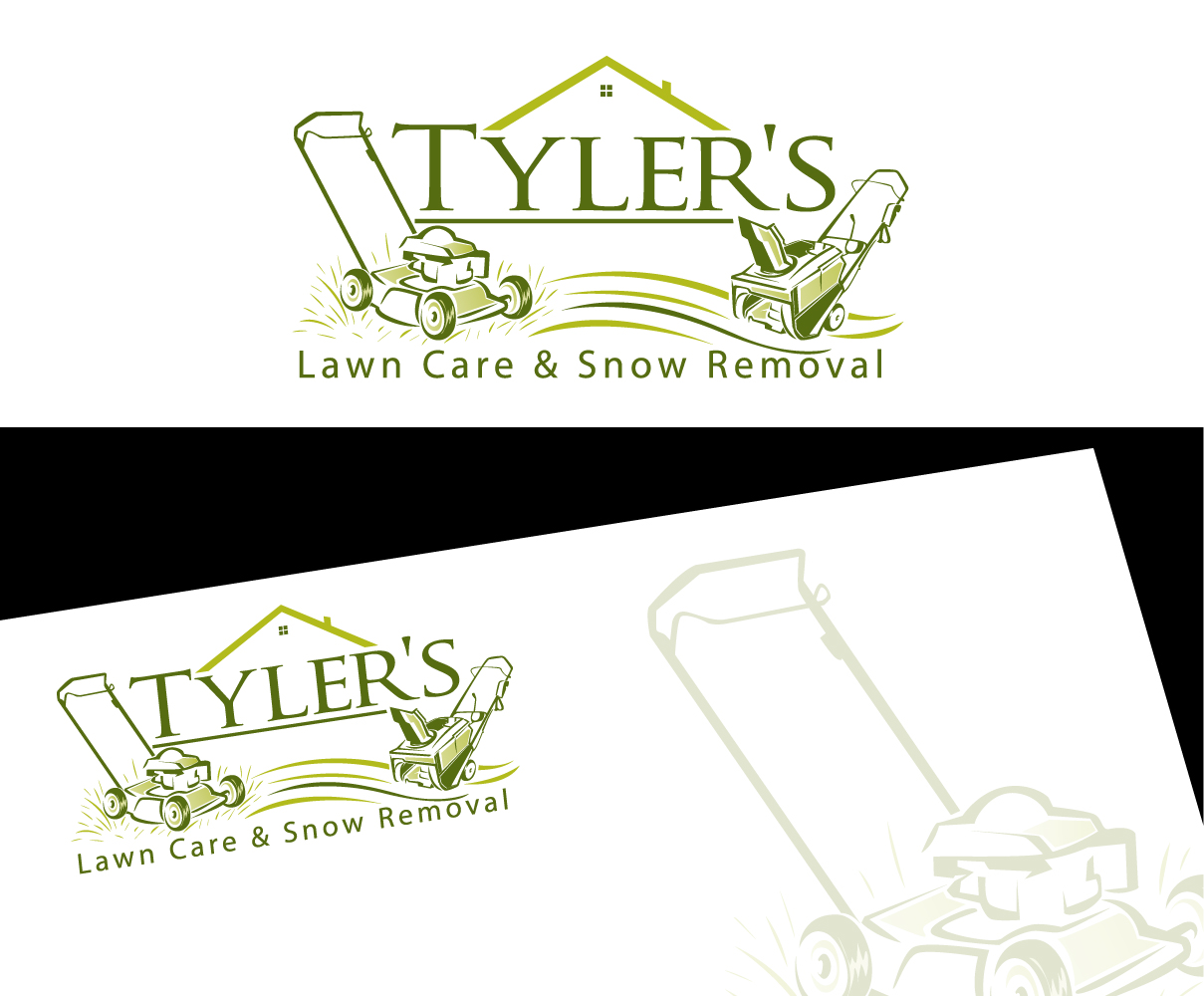 modern  bold  property maintenance logo design for tyler u0026 39 s