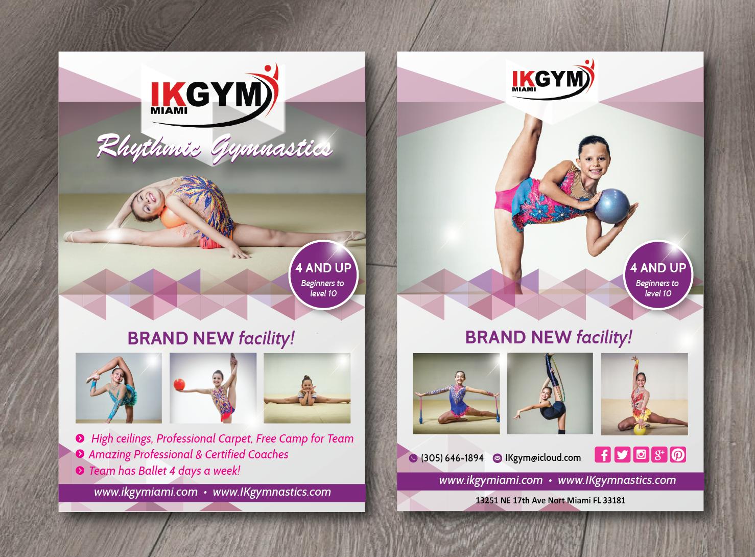 Fitness Flyer Design Galleries for Inspiration