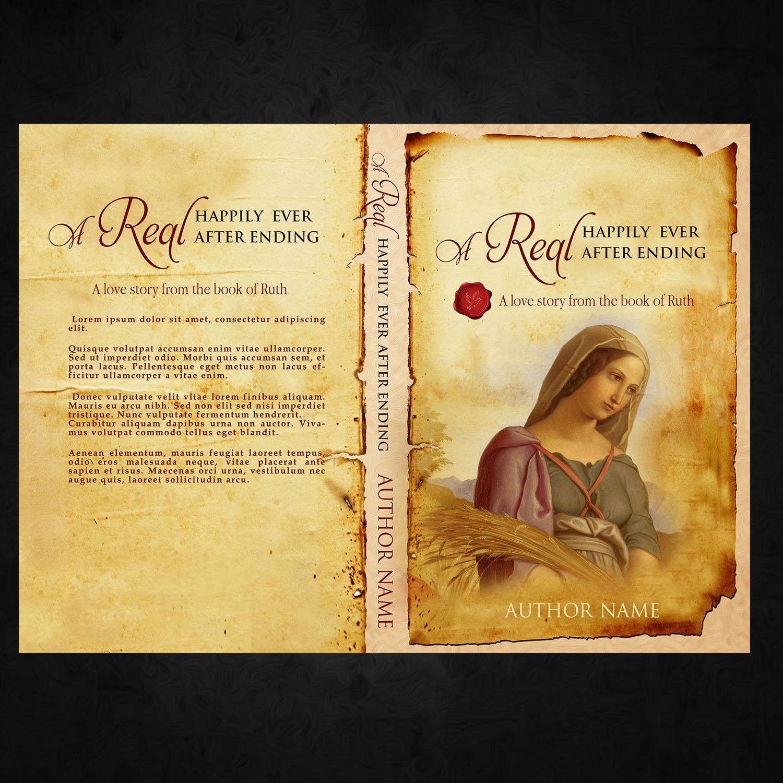 Religious Book Cover Design : Feminine colorful christian book cover design for a