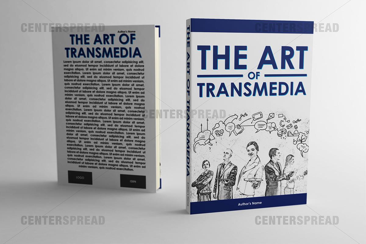 Book Cover Design Australia ~ Elegant playful graphic design book cover for a