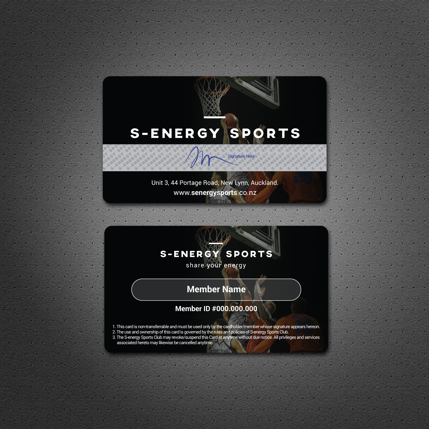 Modern masculine recreation business card design for s energy business card design by dezero for s energy sports design 12501341 reheart Image collections
