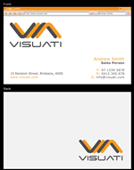 Business Card Design Contest Submission #30423