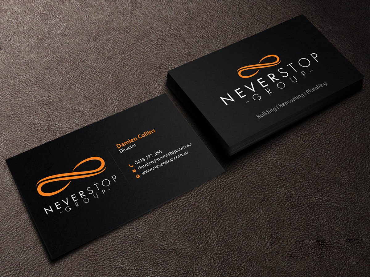 233 Professional Business Card Designs | Construction Company ...