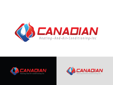 Logo Design By Graphic Designer For Canadian Heating And Air Conditioning