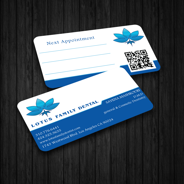 Elegant, Serious, Health Care Business Card Design for Lotus Family ...