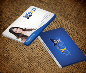 Great business card design galleries for inspiration clean professional business cards for successful realtor business card design by ews webs reheart Choice Image