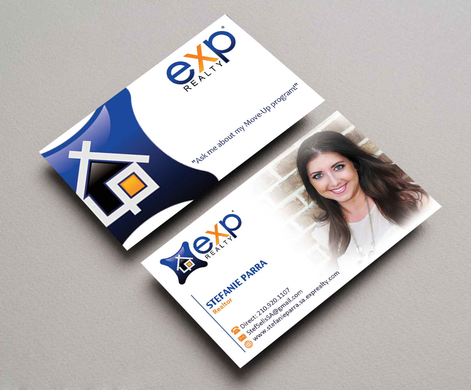 Modern professional real estate agent business card design for a business card design by gayathrik2244 for this project design 12479830 reheart Images