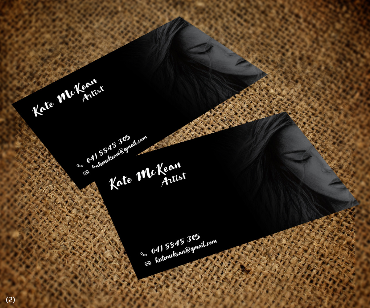 Elegant, Personable, Artists Business Card Design for a Company by ...
