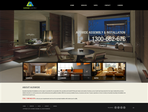 Web Design by pb - a simple functional website for an up and comin...