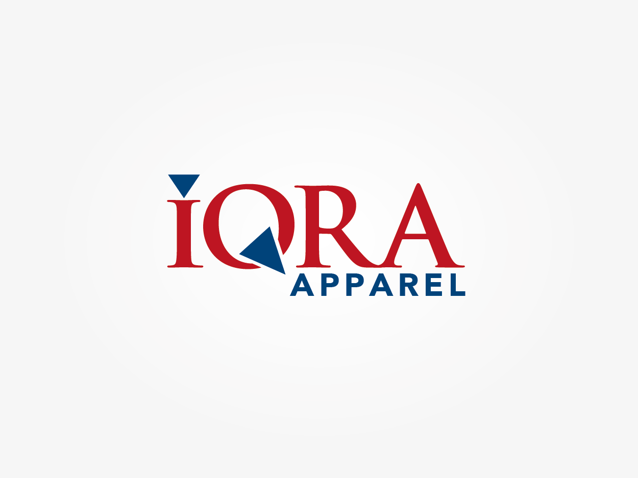Bold Modern Clothing Logo Design For Iqra Apparel By
