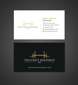 Upmarket elegant business card design job business card brief for business card design job upscale business cards needed for family business winning design by reheart Choice Image