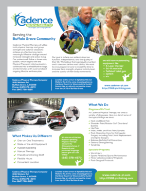 physical therapy brochures