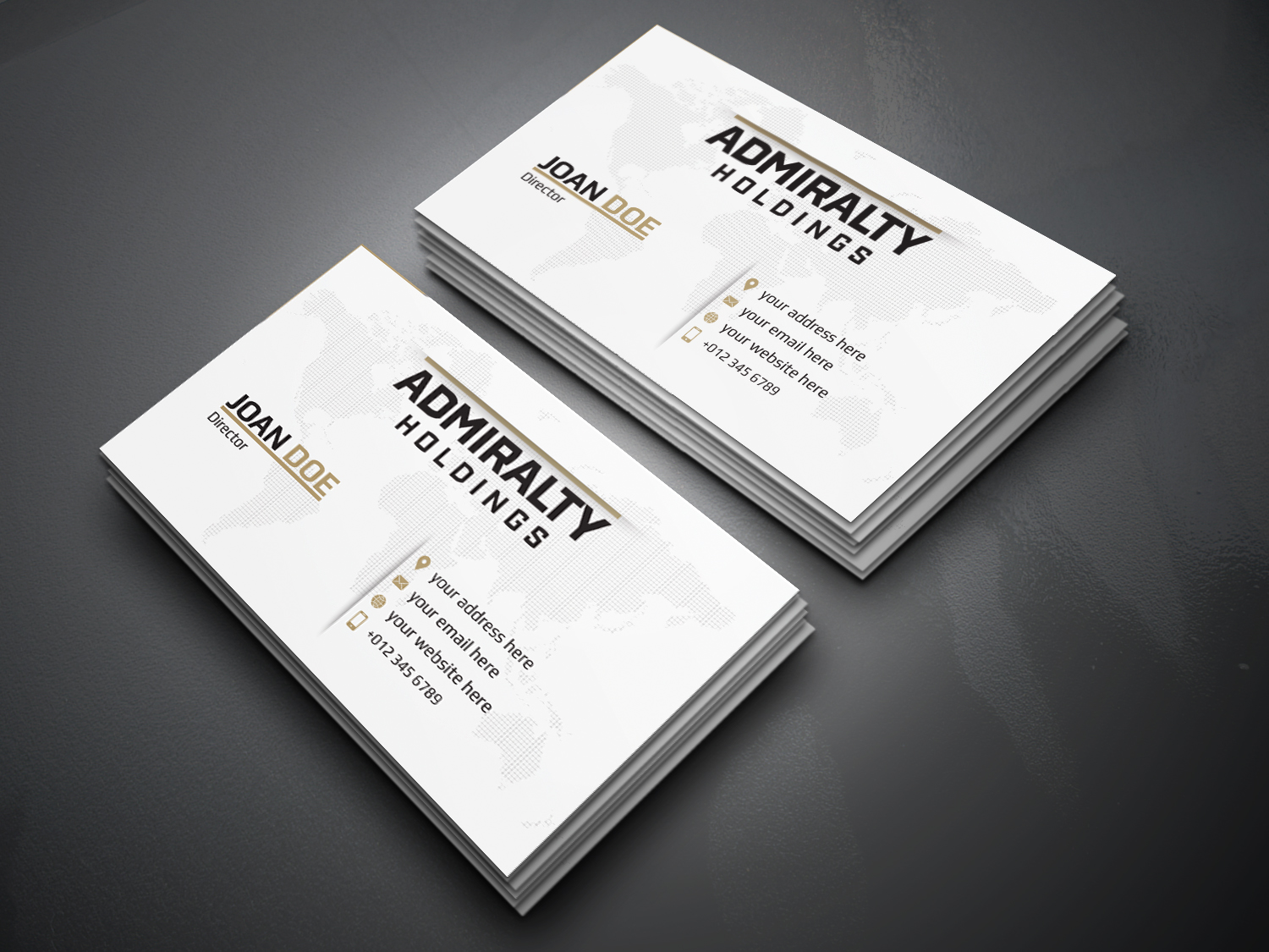 Serious, Professional Business Card Design for Hillcrest Holdings by ...