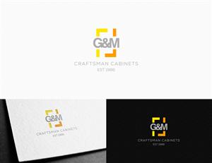 48 Bold Professional Logo Designs for G&M Craftsman Cabinets est ...