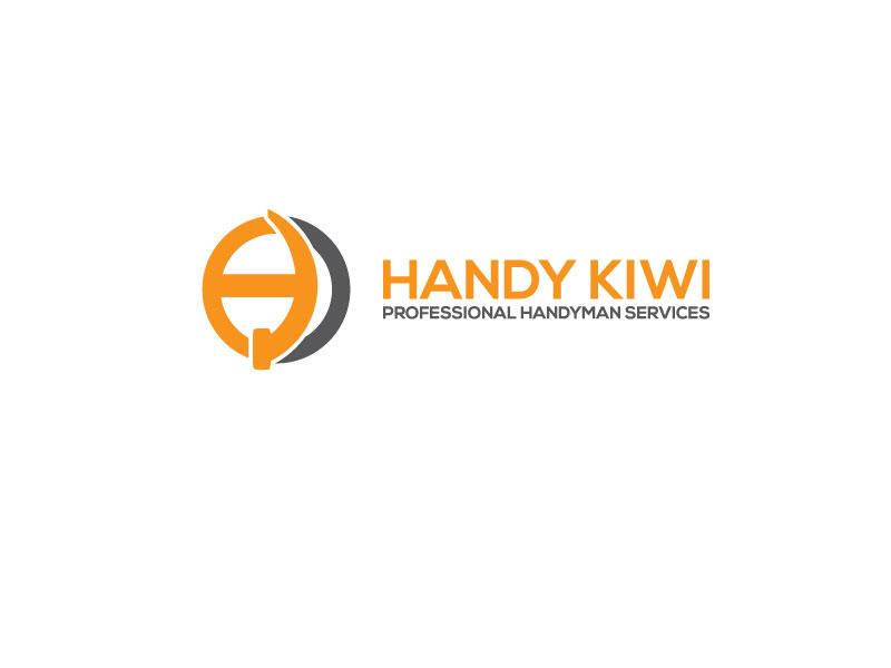Bold, Serious, Builder Logo Design for Handy Kiwi