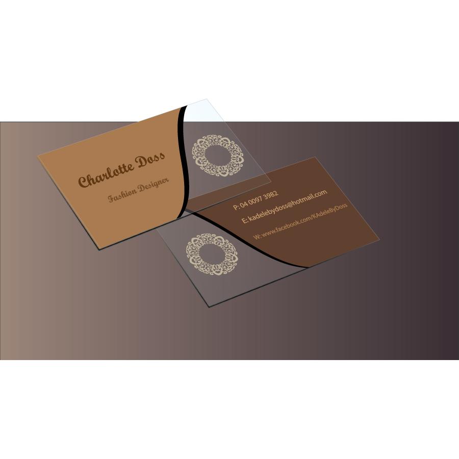 Fashion Visitenkarten Design Für A Company Von Gd Logo