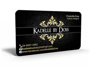 Fashion Design Business Card Ideas
