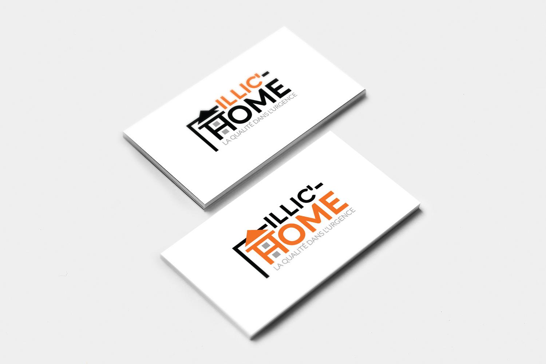 Modern Serious Internet Logo Design For Illichome La