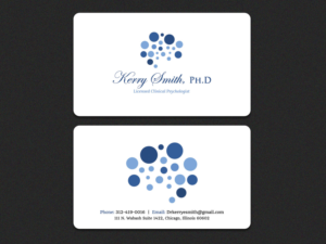 Psychologist Business Cards 105 Custom Psychologist Business Card Designs