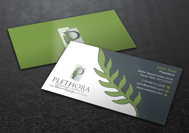 Elegant serious financial service business card design for a elegant serious financial service business card design for a company by brand aid design 12504676 reheart Choice Image