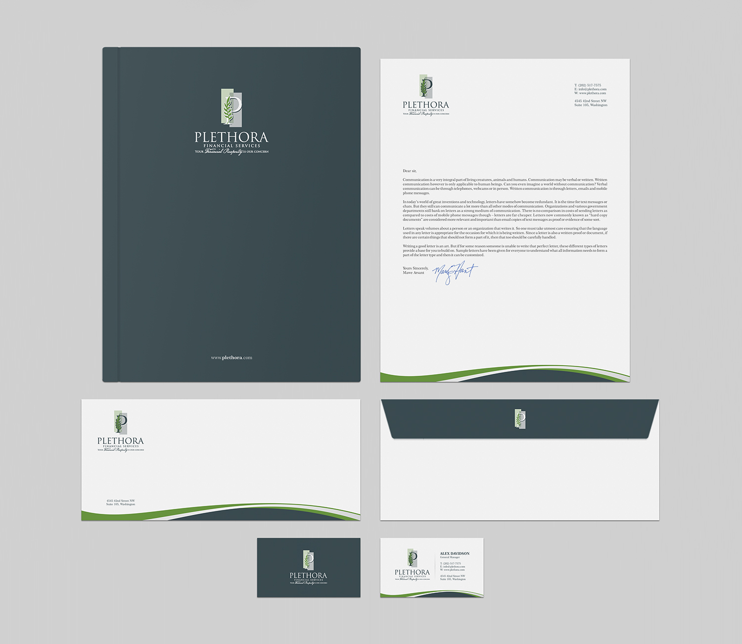Elegant, Serious, Financial Service Business Card Design for a ...