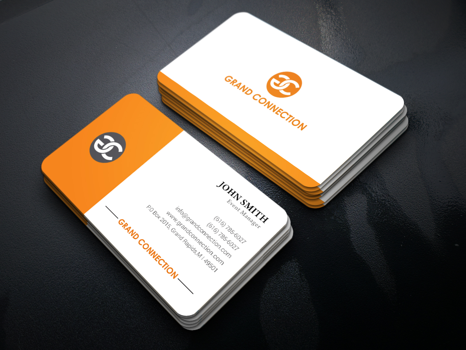 Modern professional event planning business card design for a business card design by graphic flame for this project design 12518568 colourmoves