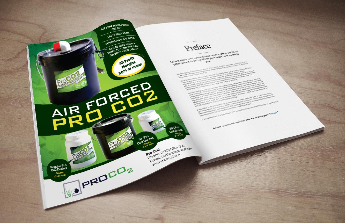 Magazine Design By Priyo Subarkah For Colorado Growers Supply | Design  #13113884