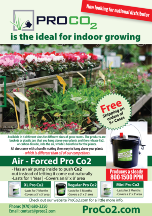 Pro Co2 garden supplement full page magazine ad | 29