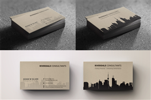 60 Profesional Upmarket Business Card Designs For A Business In Canada