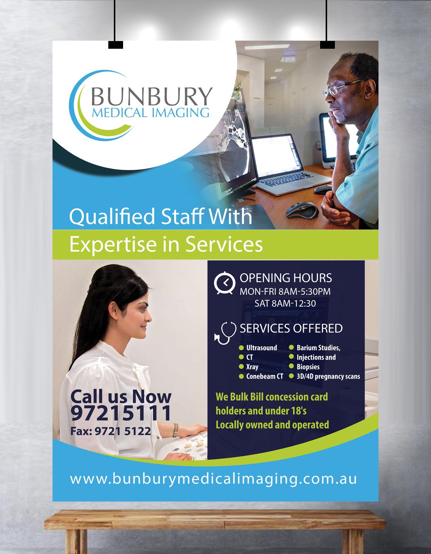 Poster design medical - Poster Design By Uk For Bunbury Medical Imaging Marketing Poster Design 12528122