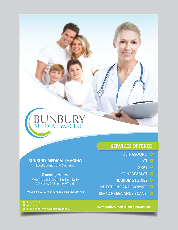 Poster design medical - Poster Design By Alex989 For Bunbury Medical Imaging Marketing Poster Design 12554176