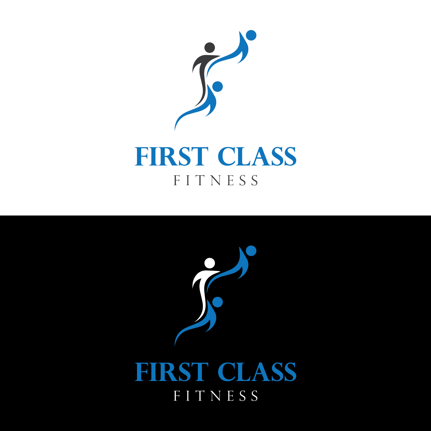 Serious Modern Fitness Logo Design For First Class Fitness By Mediaproductionart Design 12542085