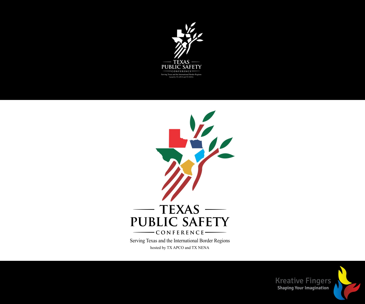 Logo Design By Kreative Fingers For Texas Public Safety Conference Serving  Texas And The International Border