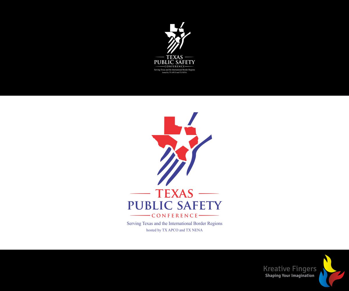 Nice Logo Design By Kreative Fingers For Texas Public Safety Conference Serving  Texas And The International Border Good Ideas