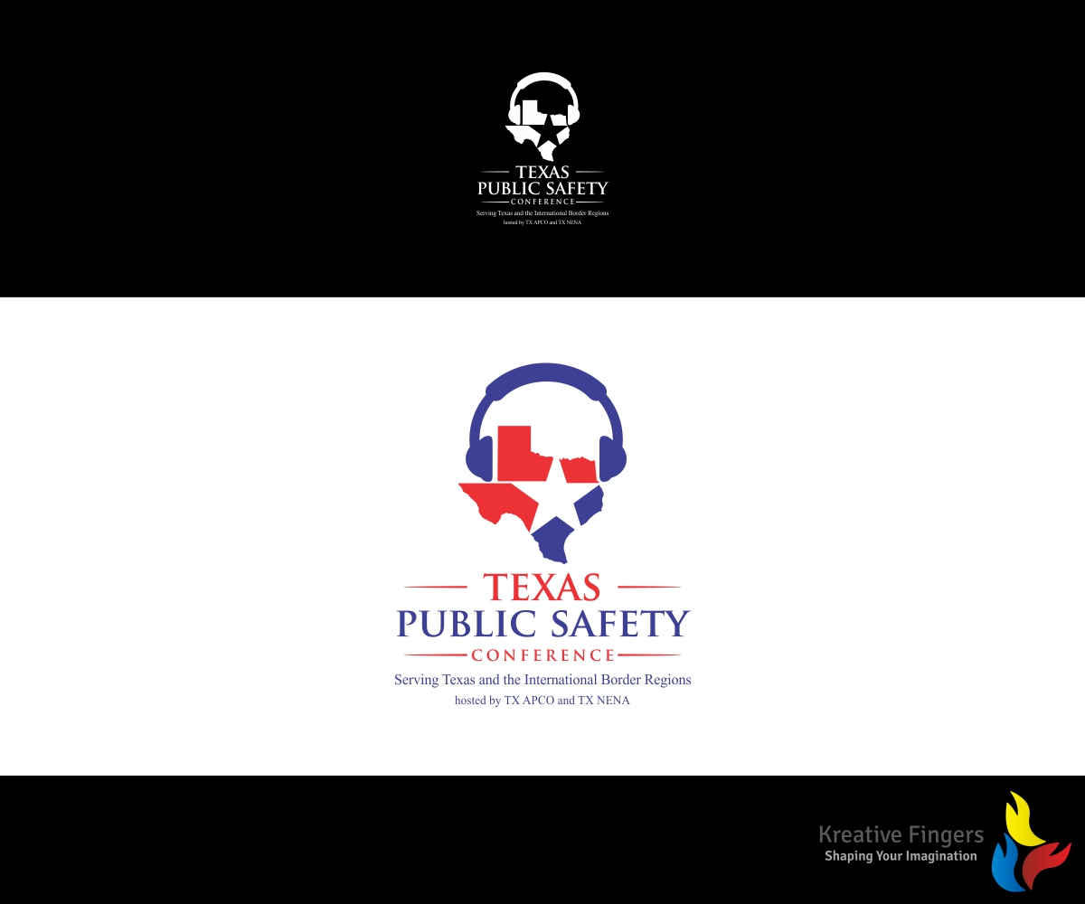 Superior Logo Design By Kreative Fingers For Texas Public Safety Conference Serving  Texas And The International Border