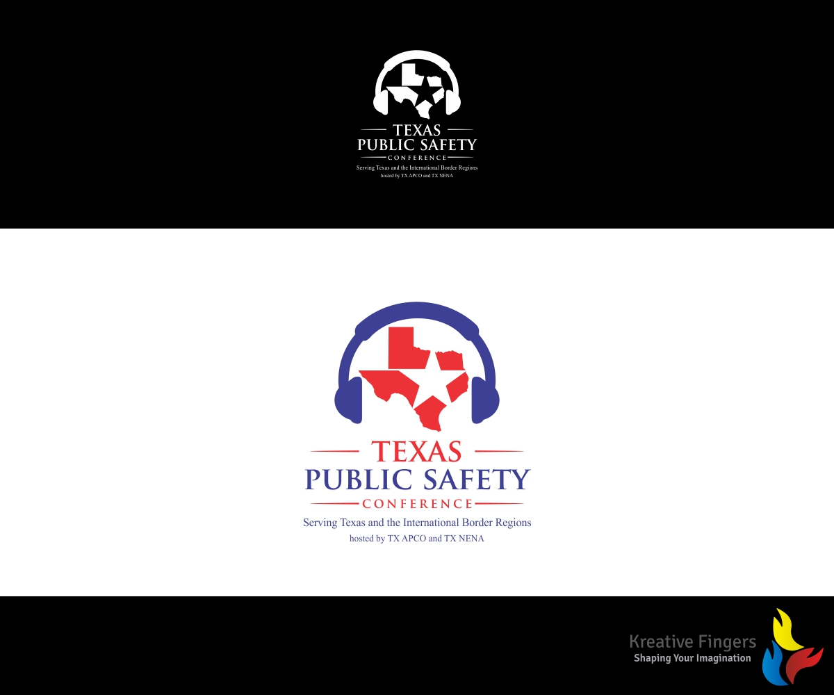 Charming Logo Design By Kreative Fingers For Texas Public Safety Conference Serving  Texas And The International Border