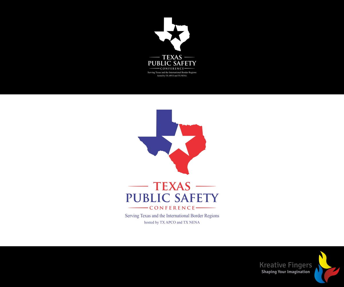Logo Design By Kreative Fingers For Texas Public Safety Conference Serving  Texas And The International Border Amazing Ideas