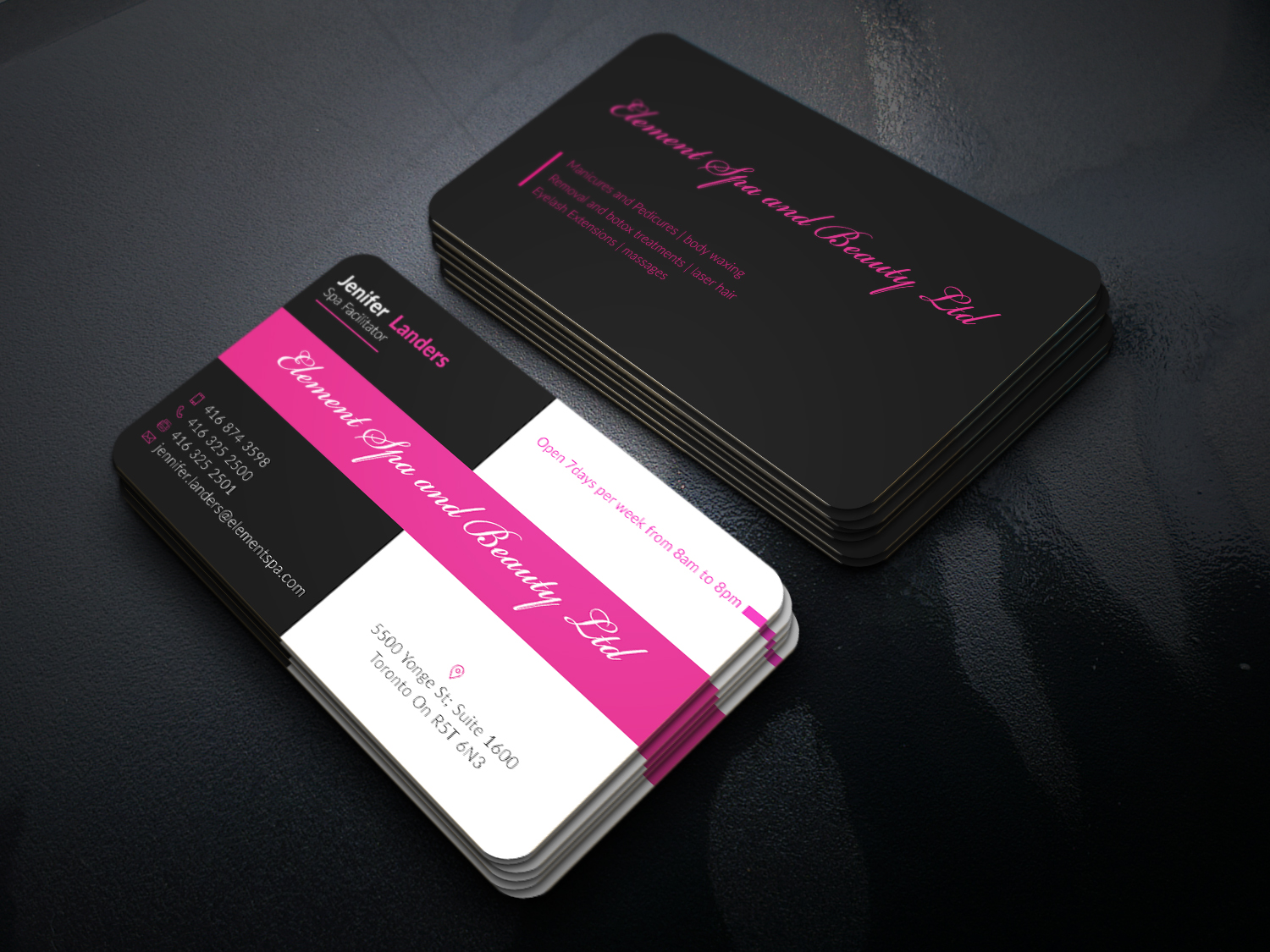 Modern professional business business card design for i dont have business card design by graphic flame for this project design 12536528 colourmoves