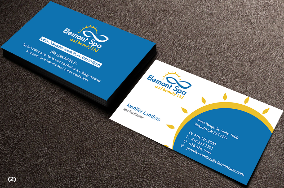 Modern professional business business card design for i dont have business card design by designanddevelopment for this project design 12553661 reheart Gallery