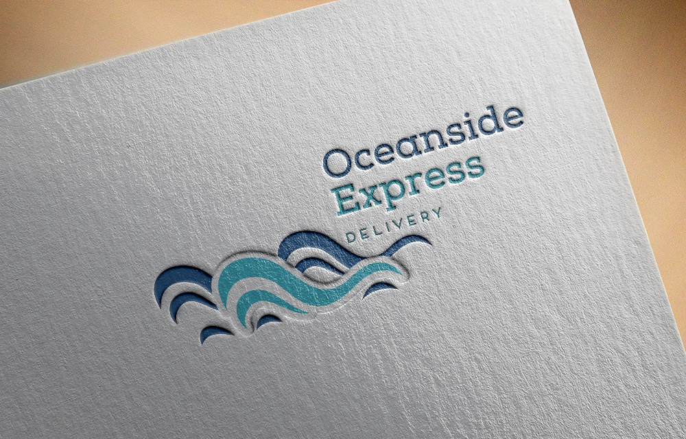 Bold, Modern, Delivery Service Logo Design for Oceanside Express by ...