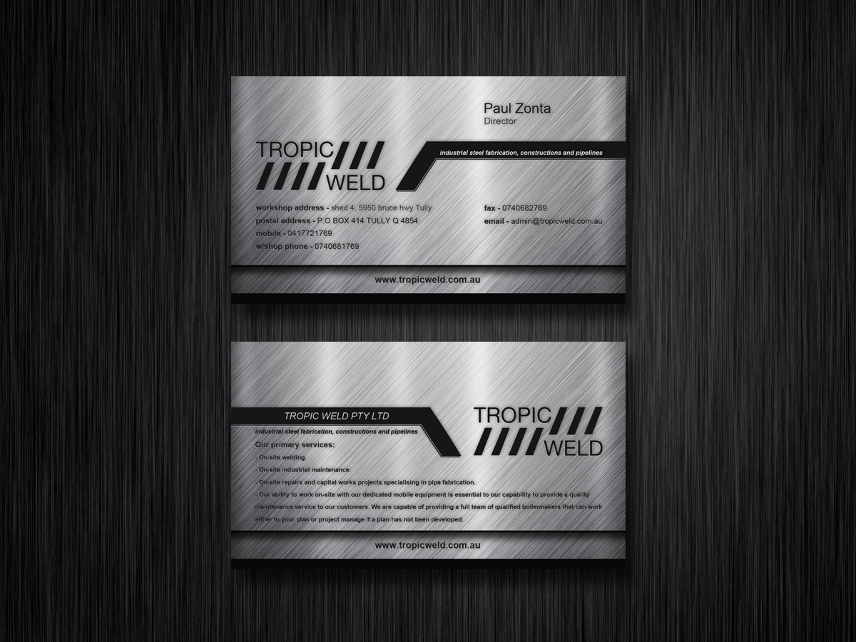 Business Card Design By E G For Needed 2434623
