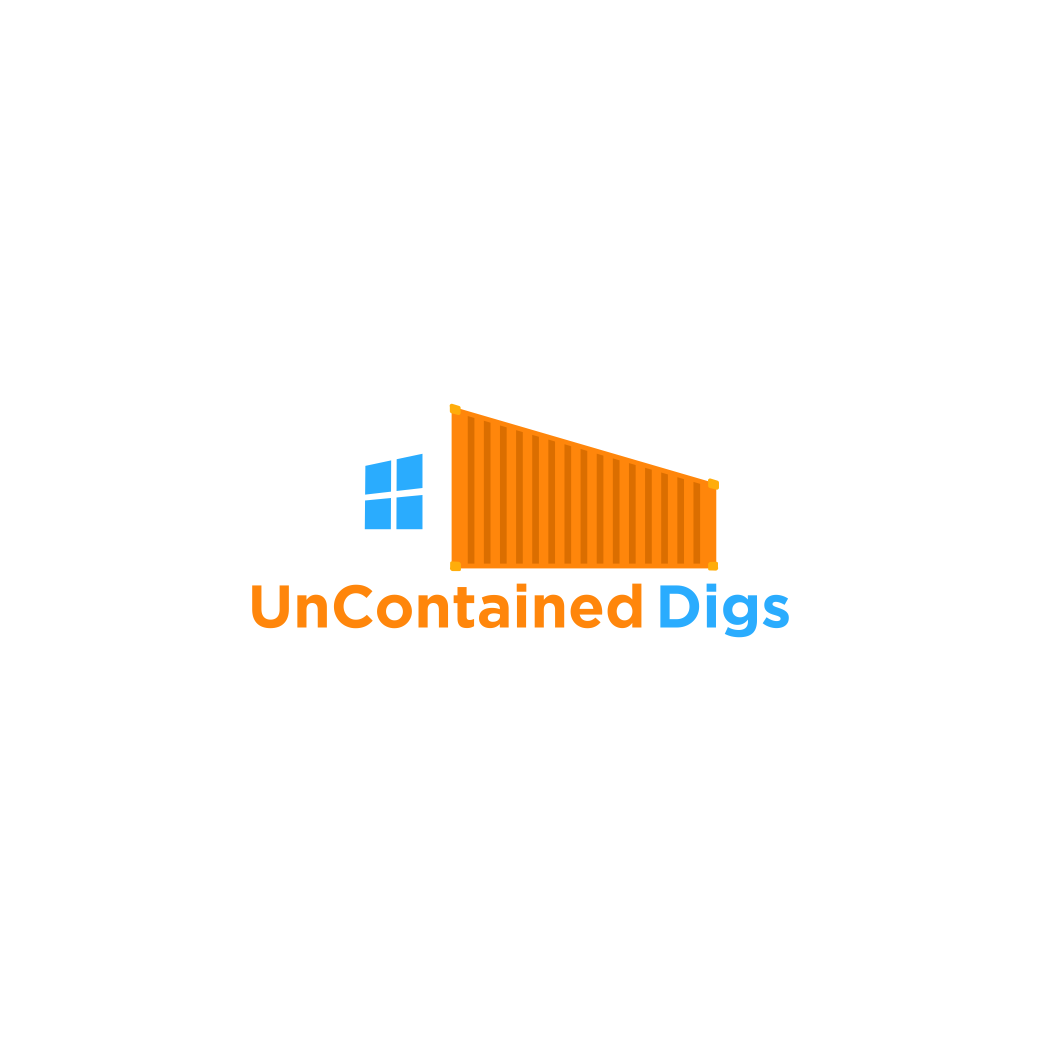 Elegant Playful Business Logo Design For Uncontained Digs By Sart