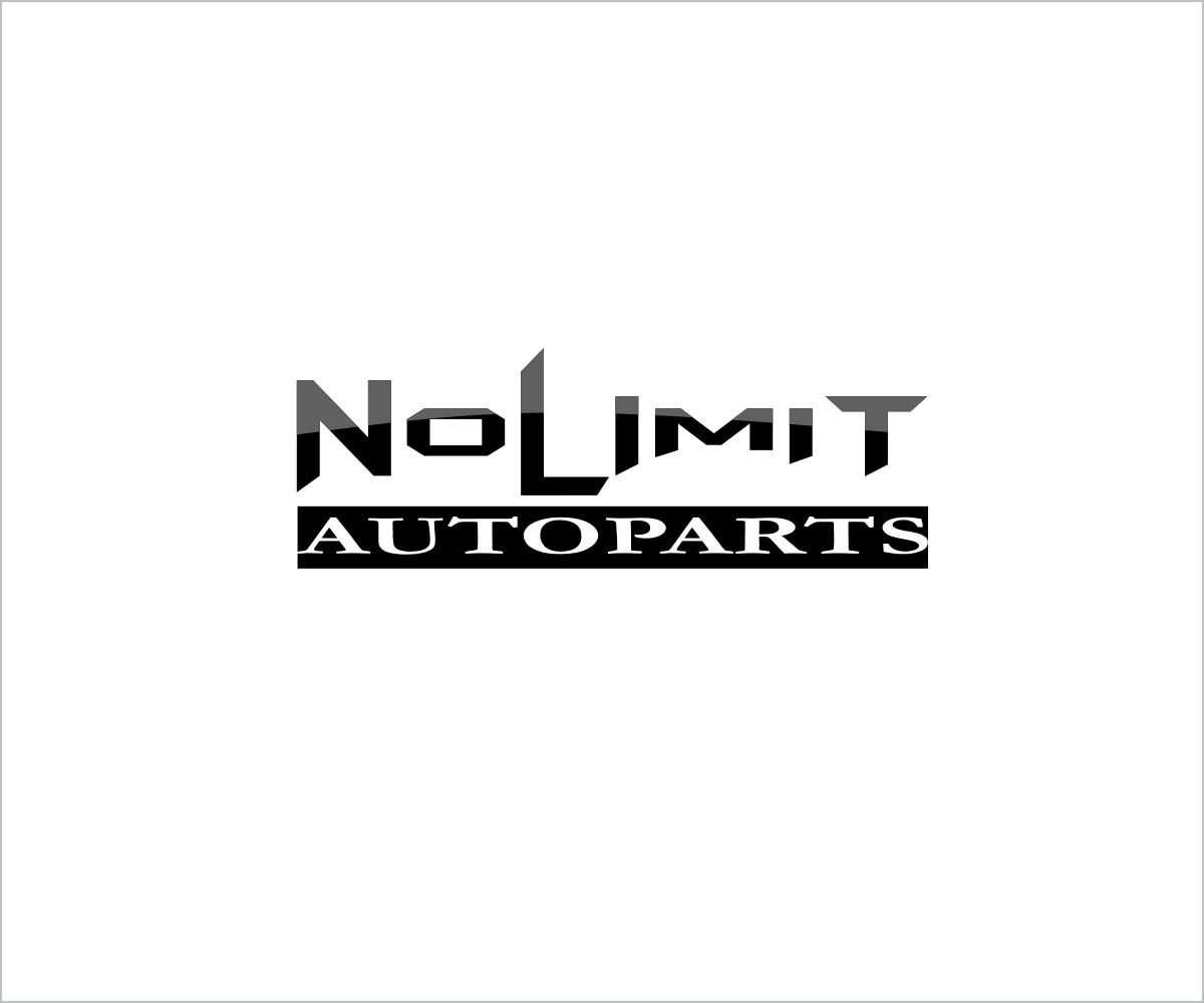 Bold Serious Automotive Logo Design For Nolimit Auto Parts By