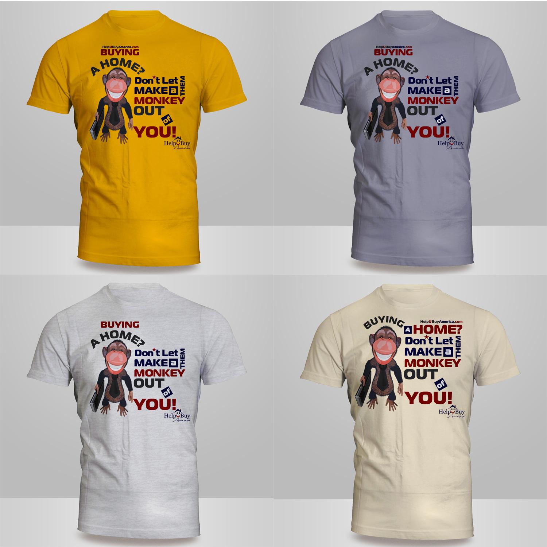 Playful, Modern, Real Estate T-shirt Design for HelpUBuy America by ...