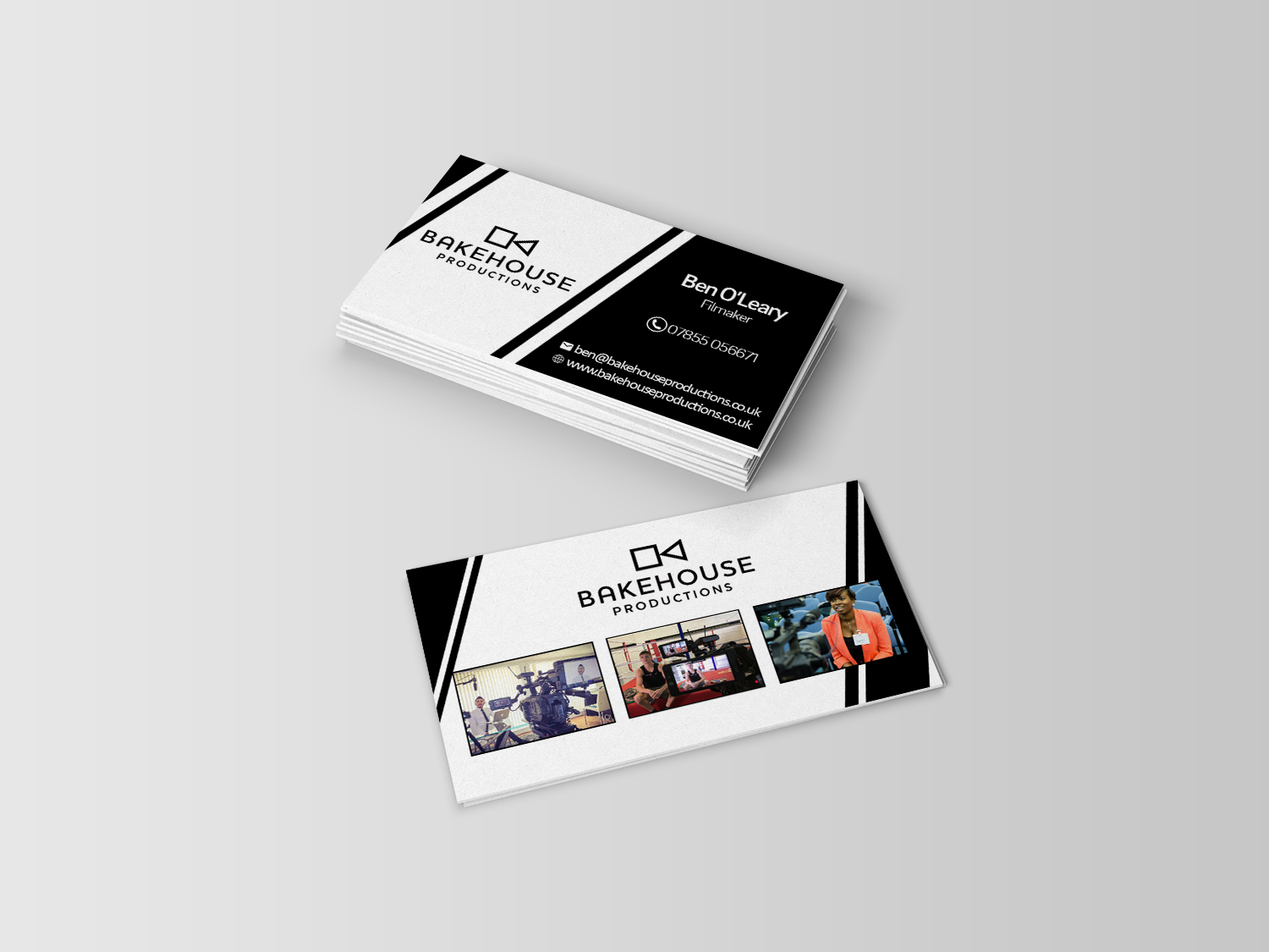 Bold, Serious, Business Business Card Design for Ignite Marketing by ...