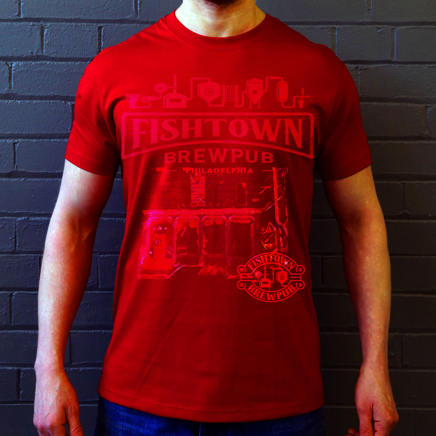 T-shirt Design by Anh Tran Thi Phuong for Fishtown Brewpub | Design #12843123