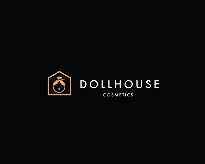 Modern Upmarket Makeup Logo Design For Dollhouse Cosmetics By Hd