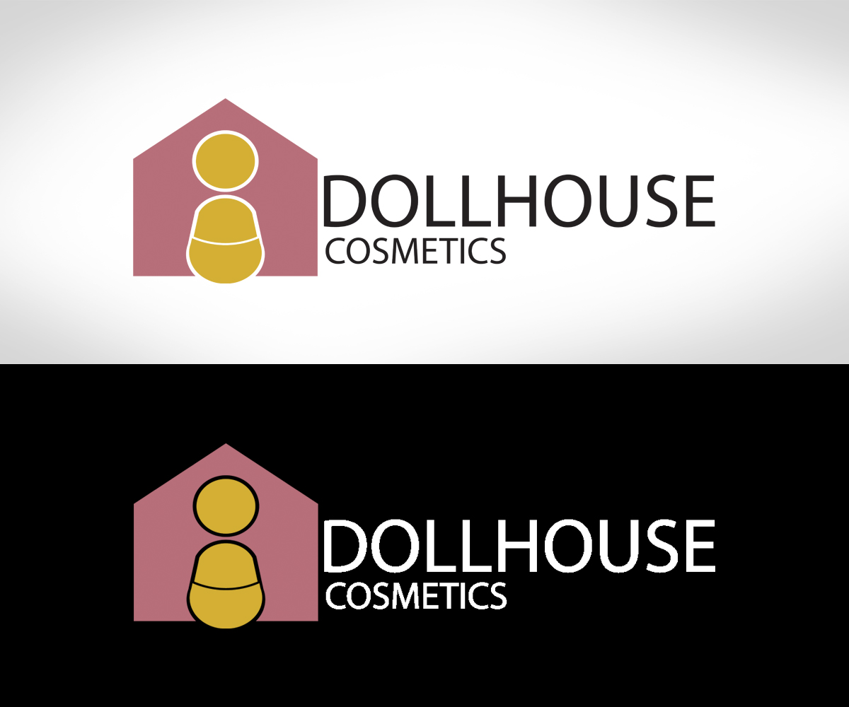 Modern, Upmarket, Makeup Logo Design for DOLLHOUSE Cosmetics by Ais